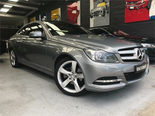 Used Mercedes-Benz C250 CDI C204 , 2013 Mercedes-Benz C250 CDI C204 Silver Sports Automatic Coupe