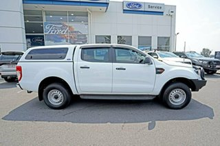 2018 Ford Ranger PX MkIII 2019.00MY XL Pick-up Double Cab White 6 Speed Sports Automatic Utility