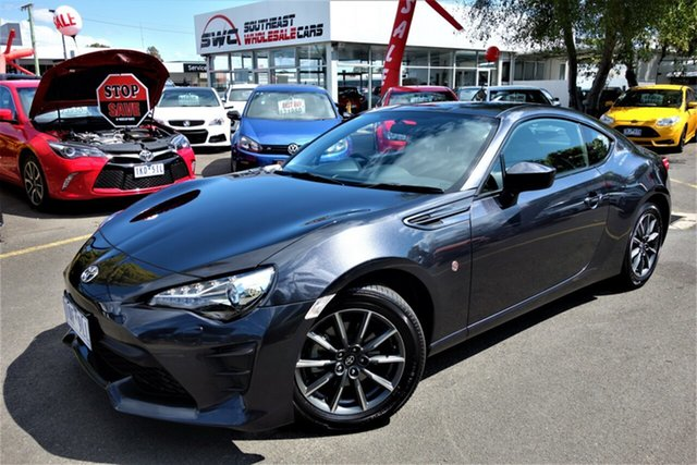 Used Toyota 86 ZN6 GT, 2016 Toyota 86 ZN6 GT Grey 6 Speed Sports Automatic Coupe