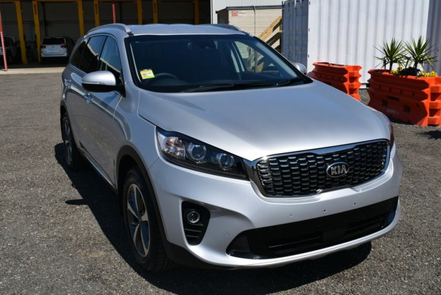 New Kia Sorento UM MY19 SLi AWD, 2018 Kia Sorento UM MY19 SLi AWD Silky Silver 8 Speed Sports Automatic Wagon