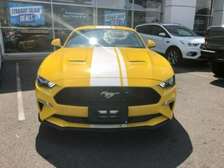 2018 Ford Mustang FN 2019MY Fastback RWD Yellow 6 Speed Manual Fastback.