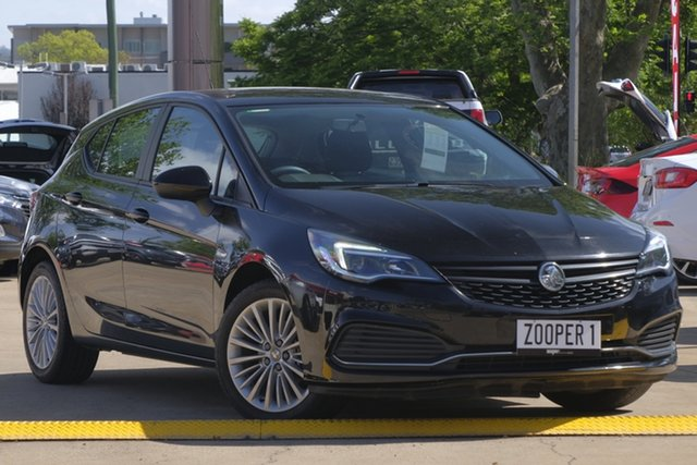 Used Holden Astra BK MY17 R, 2017 Holden Astra BK MY17 R Black 6 Speed Sports Automatic Hatchback