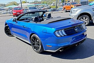 2018 Ford Mustang FN 2018MY SelectShift RWD Blue 10 Speed Sports Automatic Convertible