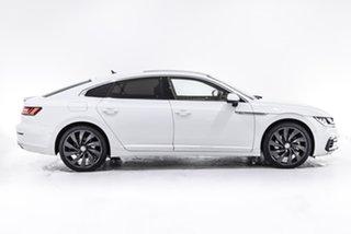 2018 Volkswagen Arteon 3H MY18 206TSI Sedan DSG 4MOTION R-Line White 7 Speed