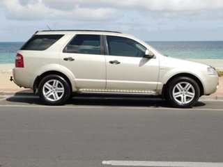 2005 Ford Territory SY Ghia Gold 4 Speed Sports Automatic Wagon.