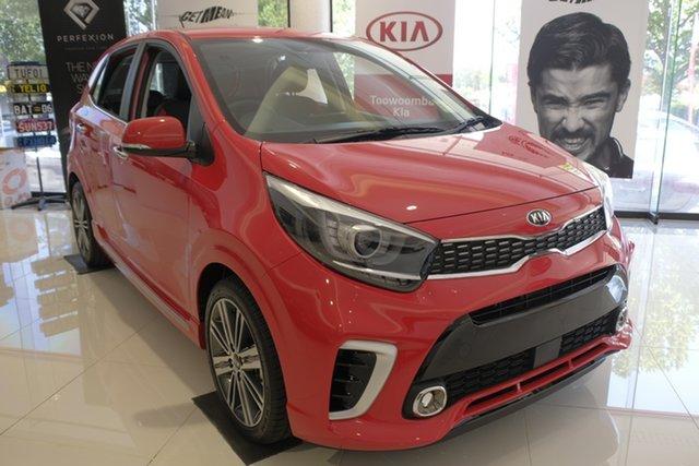 Demo Kia Picanto JA MY19 GT, 2019 Kia Picanto JA MY19 GT Signal Red 5 Speed Manual Hatchback