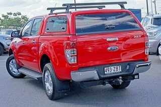2017 Ford Ranger PX MkII XLT Double Cab Red 6 Speed Manual Utility.
