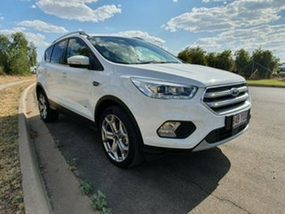 2018 Ford Escape ZG 2018.00MY Titanium AWD Frozen White 6 Speed Sports Automatic Wagon