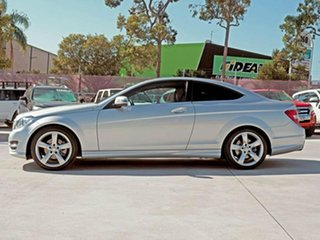 2014 Mercedes-Benz C-Class C204 MY14 C250 7G-Tronic + Iridium Silver 7 Speed Sports Automatic Coupe