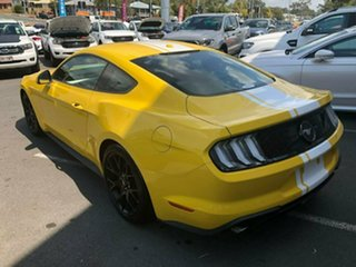 2018 Ford Mustang FN 2019MY Fastback RWD Yellow 6 Speed Manual Fastback