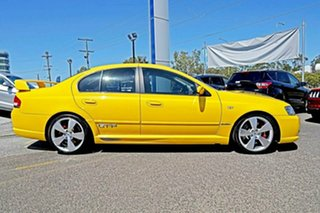 2005 Ford Performance Vehicles GT-P BA Mk II Yellow 4 Speed Sports Automatic Sedan