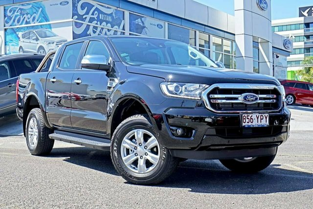 Used Ford Ranger PX MkIII 2019.00MY XLT Pick-up Double Cab, 2019 Ford Ranger PX MkIII 2019.00MY XLT Pick-up Double Cab Black 10 Speed Sports Automatic Utility