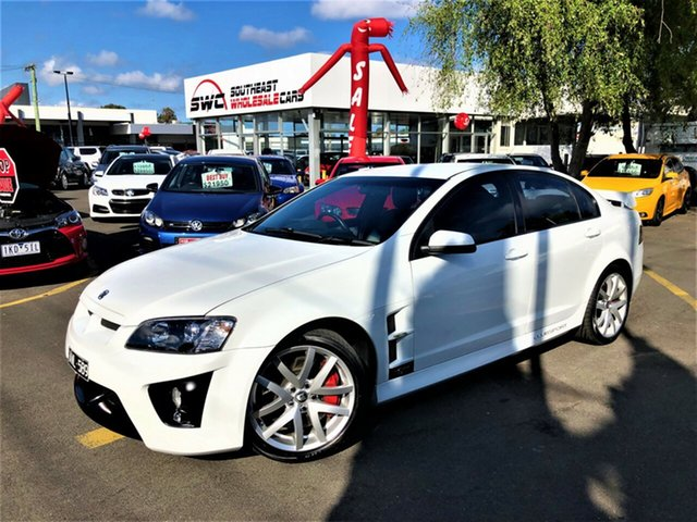 Used Holden Special Vehicles ClubSport E Series R8, 2006 Holden Special Vehicles ClubSport E Series R8 White 6 Speed Manual Sedan
