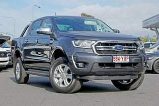 2018 Ford Ranger PX MkIII 2019.00MY XLT Pick-up Double Cab 4x2 Hi-Rider Meteor Grey 10 Speed.