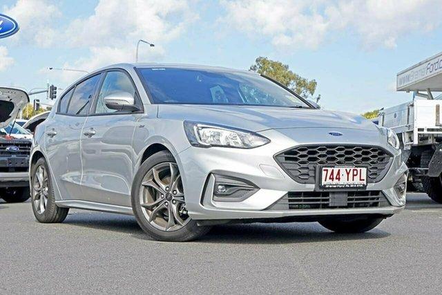 Used Ford Focus SA 2019MY ST-Line, 2018 Ford Focus SA 2019MY ST-Line Moondust Silver 8 Speed Automatic Hatchback
