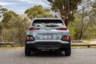 2019 Hyundai Kona OS.2 MY19 Active D-CT AWD Lake Silver 7 Speed Sports Automatic Dual Clutch Wagon