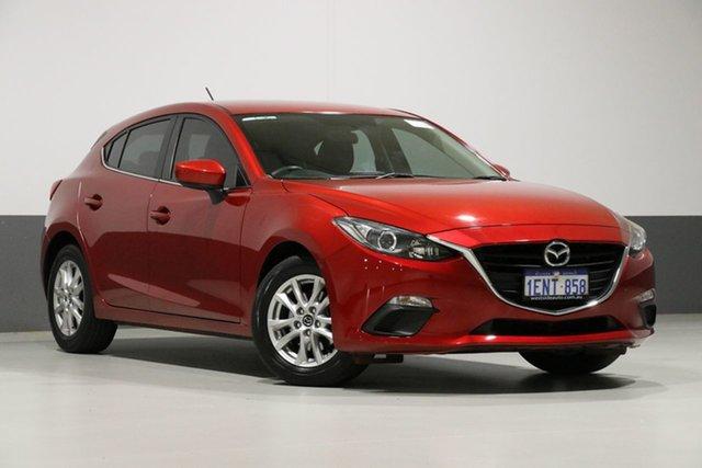 Used Mazda 3 BM Touring, 2014 Mazda 3 BM Touring Soul Red 6 Speed Automatic Hatchback
