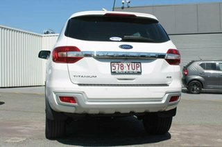 2018 Ford Everest UA 2018.00MY Titanium White 6 Speed Sports Automatic Wagon