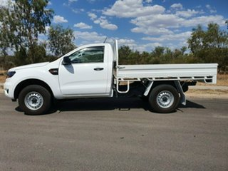 2019 Ford Ranger PX MkIII 2019.00MY XL Arctic White 6 Speed Sports Automatic Cab Chassis.