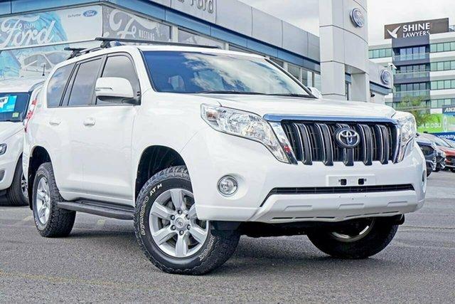 Used Toyota Landcruiser Prado KDJ150R MY14 GXL, 2015 Toyota Landcruiser Prado KDJ150R MY14 GXL White 5 Speed Sports Automatic Wagon