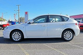 2009 Subaru Impreza G3 MY09 R AWD White 4 Speed Sports Automatic Hatchback