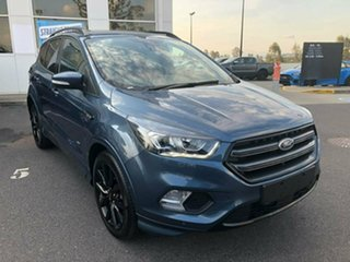 2018 Ford Escape ZG 2018.75MY ST-Line AWD Blue 6 Speed Sports Automatic Wagon.