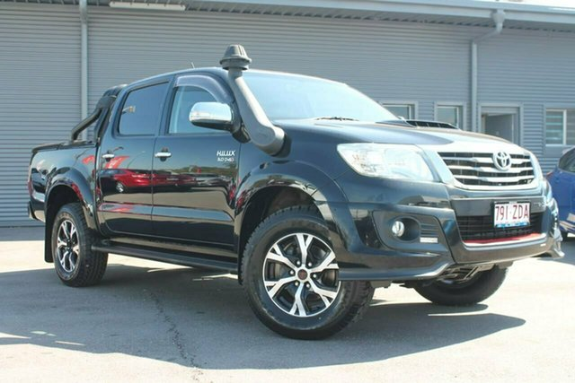 Used Toyota Hilux KUN26R MY14 Black Double Cab Limited Edition, 2014 Toyota Hilux KUN26R MY14 Black Double Cab Limited Edition Black 5 Speed Manual Utility
