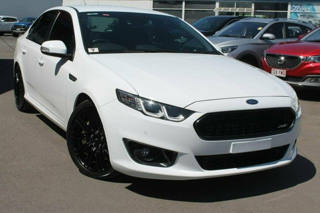 Used Ford Falcon FG X XR6 Sprint, 2016 Ford Falcon FG X XR6 Sprint White 6 Speed Sports Automatic Sedan