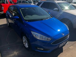 2015 Ford Focus LZ Trend Blue 6 Speed Automatic Hatchback.