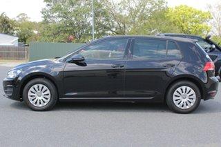 2015 Volkswagen Golf VII MY16 92TSI Black 6 Speed Manual Hatchback.