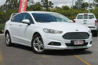 2017 Ford Mondeo MD 2017.50MY Ambiente SelectShift White 6 Speed Sports Automatic Hatchback.