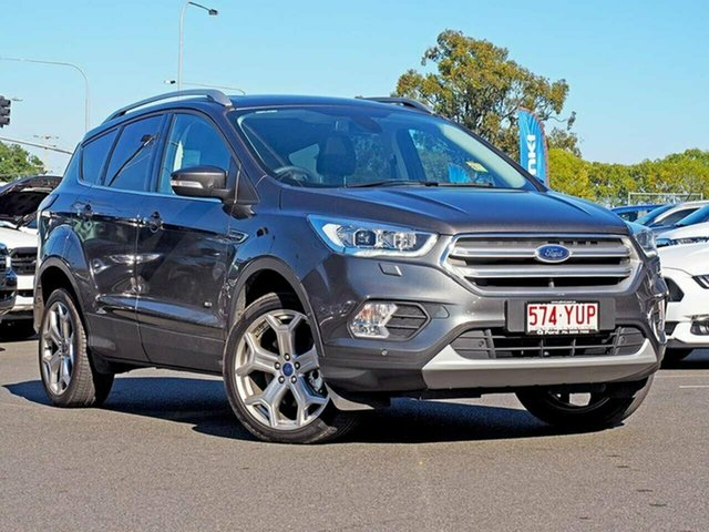 Used Ford Escape ZG 2018.00MY Titanium PwrShift AWD, 2018 Ford Escape ZG 2018.00MY Titanium PwrShift AWD Magnetic 6 Speed Sports Automatic Dual Clutch