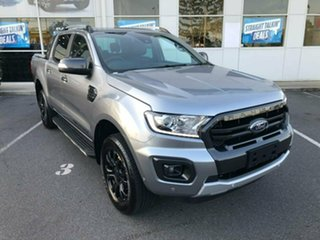 2019 Ford Ranger PX MkIII 2019.00MY Wildtrak Pick-up Double Cab Silver 10 Speed Sports Automatic.