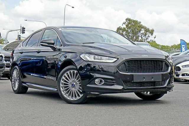 Used Ford Mondeo MD 2017.00MY Titanium PwrShift, 2017 Ford Mondeo MD 2017.00MY Titanium PwrShift Black 6 Speed Sports Automatic Dual Clutch Hatchback