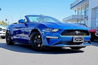 2018 Ford Mustang FN 2018MY SelectShift RWD Blue 10 Speed Sports Automatic Convertible.