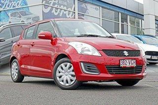 2014 Suzuki Swift FZ MY14 GL Red 4 Speed Automatic Hatchback.
