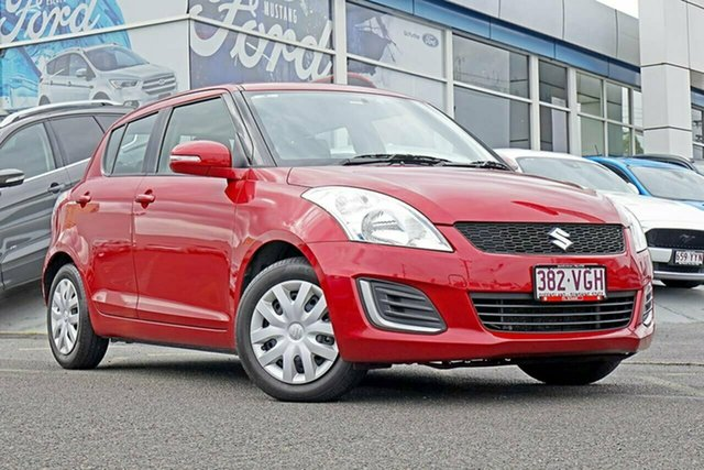 Used Suzuki Swift FZ MY14 GL, 2014 Suzuki Swift FZ MY14 GL Red 4 Speed Automatic Hatchback