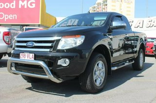 2015 Ford Ranger PX XLT Double Cab 4x2 Hi-Rider Black 6 Speed Sports Automatic Utility