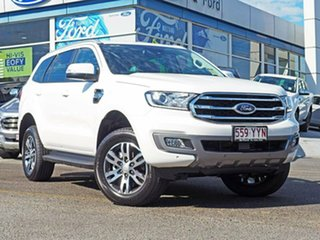 2019 Ford Everest UA II 2019.00MY Trend 4WD White 6 Speed Sports Automatic Wagon.