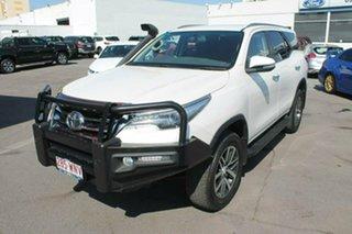 2015 Toyota Fortuner GUN156R Crusade White 6 Speed Automatic Wagon.
