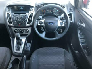 2013 Ford Focus LW MkII Trend PwrShift Red 6 Speed Sports Automatic Dual Clutch Hatchback