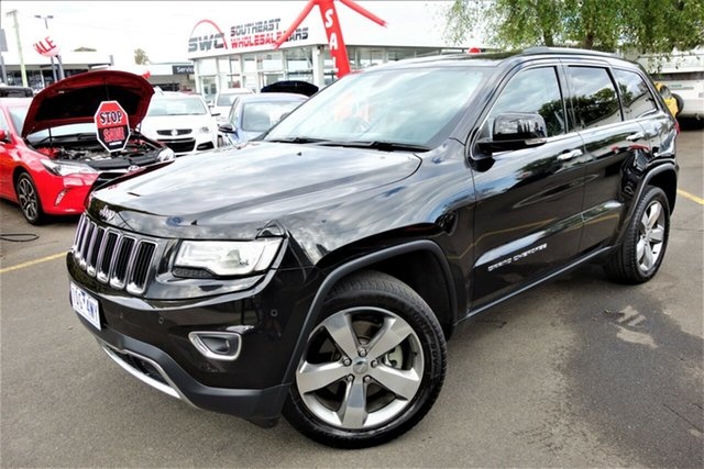 Used Jeep Grand Cherokee WK MY2014 Limited, 2013 Jeep Grand Cherokee WK MY2014 Limited Black 8 Speed Sports Automatic Wagon