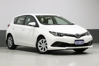 2017 Toyota Corolla ZRE182R MY15 Ascent White 7 Speed CVT Auto Sequential Hatchback.