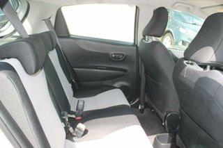 2013 Toyota Yaris NCP130R YR Silver 5 Speed Manual Hatchback