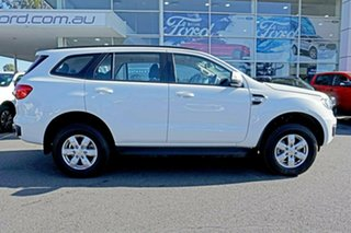 2018 Ford Everest Arctic White.
