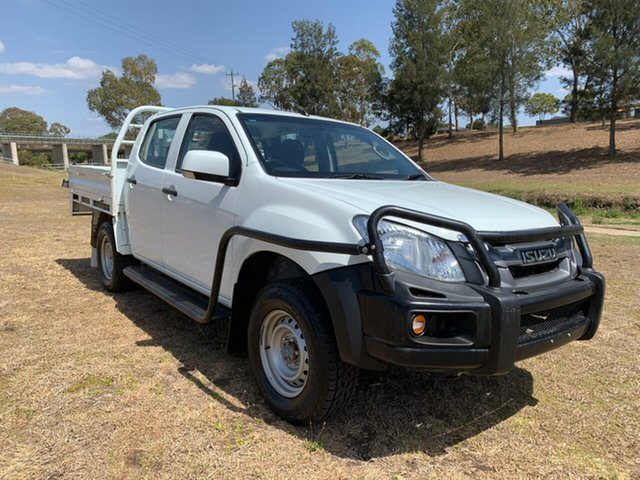 Used Isuzu D-MAX TF MY15 SX (4x4), 2015 Isuzu D-MAX TF MY15 SX (4x4) 5 Speed Manual Crew Cab Utility