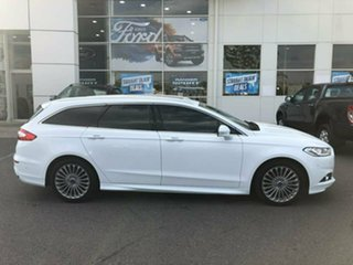 2016 Ford Mondeo MD Titanium PwrShift White 6 Speed Sports Automatic Dual Clutch Wagon