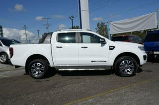 2018 Ford Ranger PX MkIII 2019.00MY Wildtrak Pick-up Double Cab White 10 Speed Sports Automatic