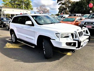 2013 Jeep Grand Cherokee WK MY2014 Laredo White 8 Speed Sports Automatic Wagon.