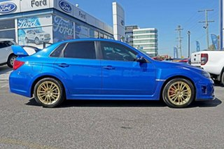 2013 Subaru WRX V1 MY15 AWD Blue 6 Speed Manual Sedan